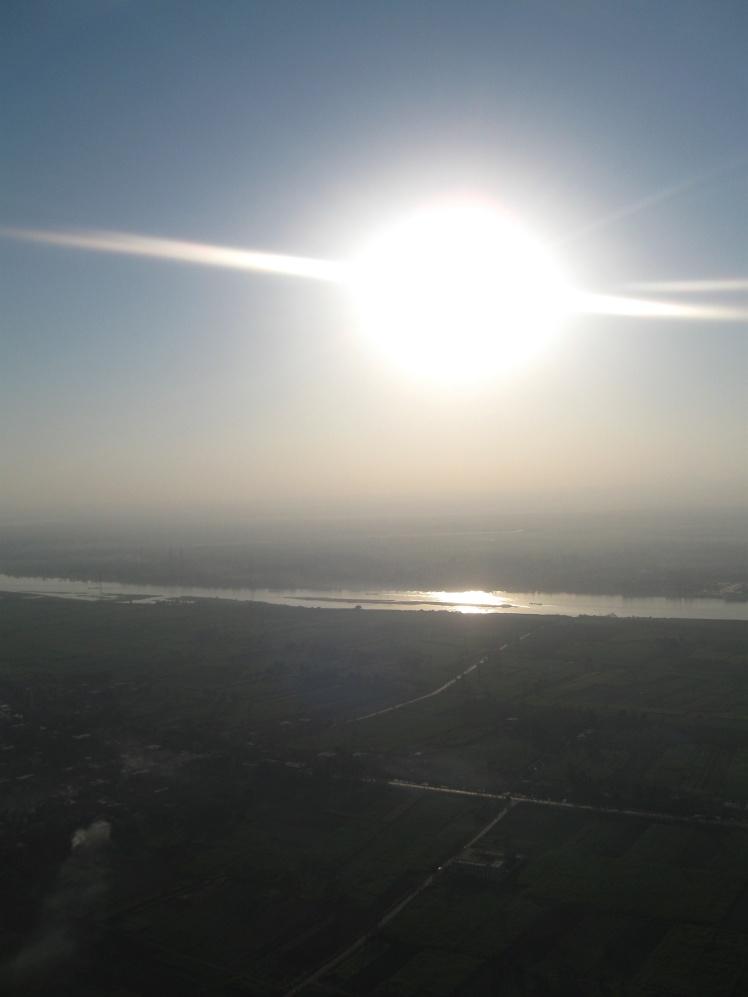 The River Nile, Egypt - September 2011